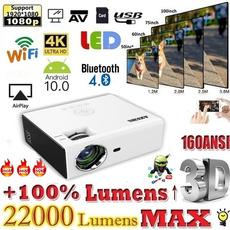 projetor4k, Mini, officeprojector, projector