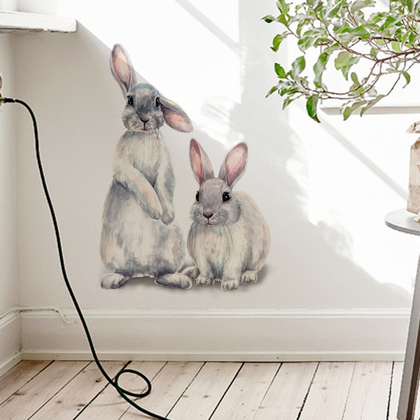 PVC wall stickers, Home & Kitchen, Wallpaper, cute