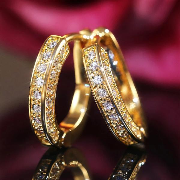 Women, Hoop Earring, Dangle Earring, lover gifts