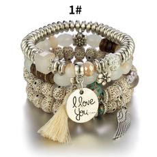Beaded Bracelets, Tassels, Fashion, Jewelry