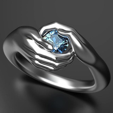 Couple Rings, Blues, Love, wedding ring