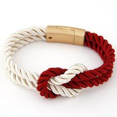 Charm Bracelet, Rope, Jewelry, Gifts