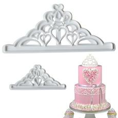 Bakeware, chocolatemold, caketopper, crown