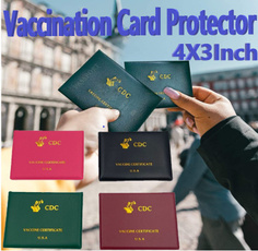 cardprotector, Zip, vaccinationcard, Waterproof
