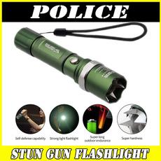Flashlight, stungun, Head, electricshocker