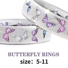 Beautiful, butterfly, butterflyring, DIAMOND