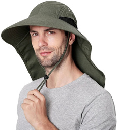 Fashion, Necks, Waterproof, Cap