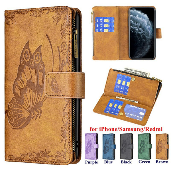 butterfly, case, Fashion, iphone11walletcase