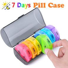 case, cute, pillbox, weeklypillorganizer