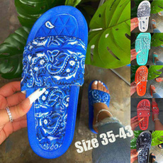 Blues, Slippers, Plus Size, summersandal