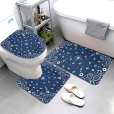 Blues, Bathroom, Fashion, bathrug