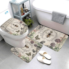 Bathroom, bathrug, Garden, contourmat