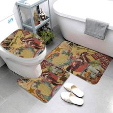 Bathroom, bathrug, contourmat, Cowboy