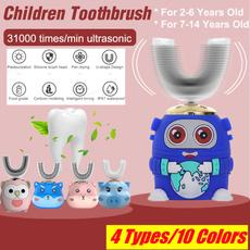 ultrasonictoothbrush, Toothbrush, ushapetoothbrush, Electric