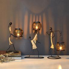 Candleholders, metalornament, Metal, decoration