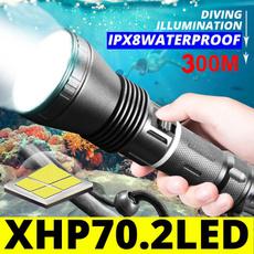 Flashlight, underwater, led, Waterproof