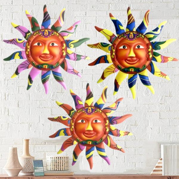 Decor, Home & Office, Wall Art, metalsunwalldecor
