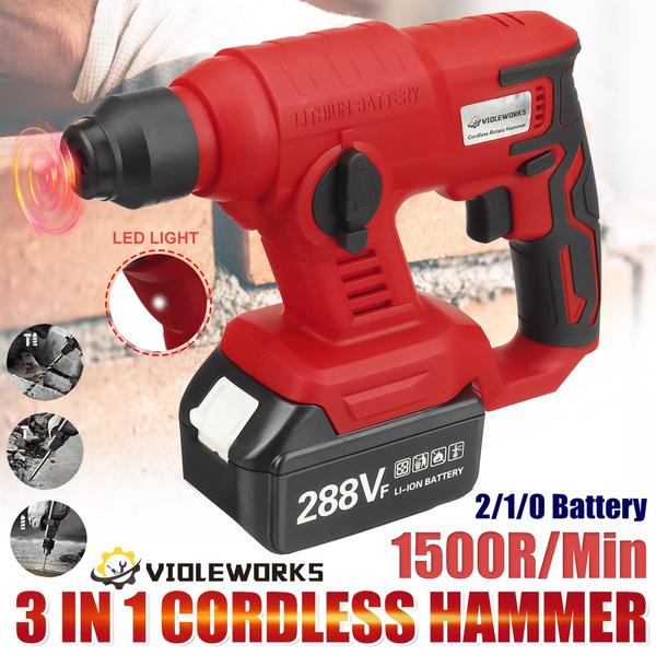 electricrotaryhammer, Battery, electrichammer, Tool