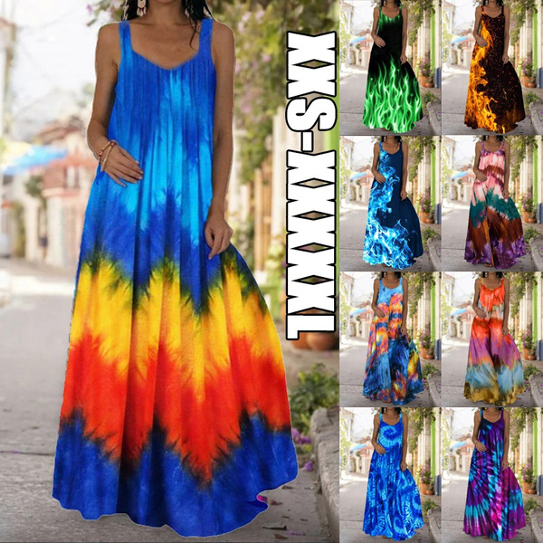Summer, Fashion, Necks, Dress