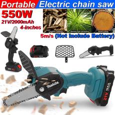Mini, Wood, Electric, Chain