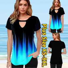 Plus Size, Women Blouse, Dress, summer t-shirts