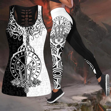 viking, sportstanktop, Leggings, Fashion