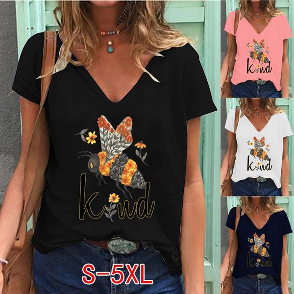 Summer, Plus Size, tshirtforgirl, printed shirts