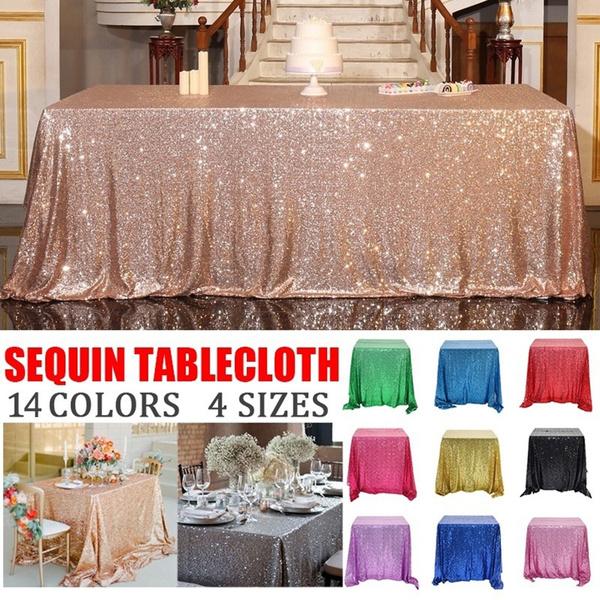party, glittersequintablecloth, Home Decor, sparkle