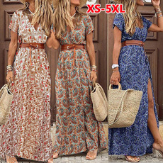 Summer, Print Dresses, sundress, long dress