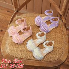 Summer, Sandals, puleathershoe, Lace