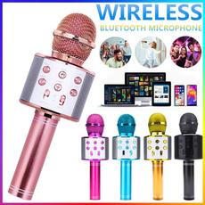 handheldmicrophone, bluetoothmicrophone, Microphone, wirelessmicrophonekaraoke