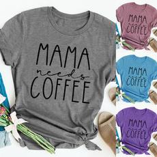 Funny, Coffee, momshirt, Graphic T-Shirt