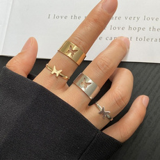 Beautiful, butterfly, exquisite jewelry, wedding ring