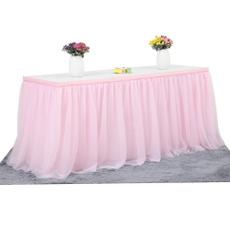 Decor, Romantic, Wedding, tableskirting
