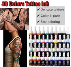 tattoo, blackink, art, Beauty