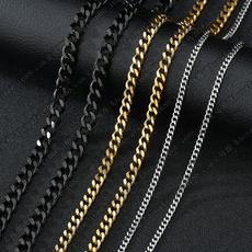 Steel, Chain Necklace, mensnecklacechain, Joyería