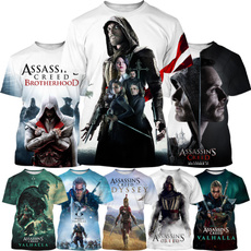 assassinshirt, Summer, Video Games, Assassin's Creed