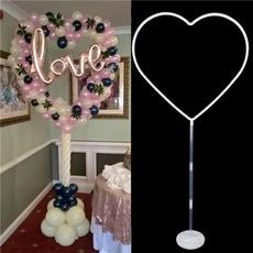 balloonhoop, Heart, Decor, weddingballoondecoration