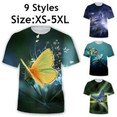 butterfly, Summer, Funny T Shirt, short sleeves