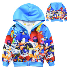 sonic, Fashion, pullover sweater, Long sleeved