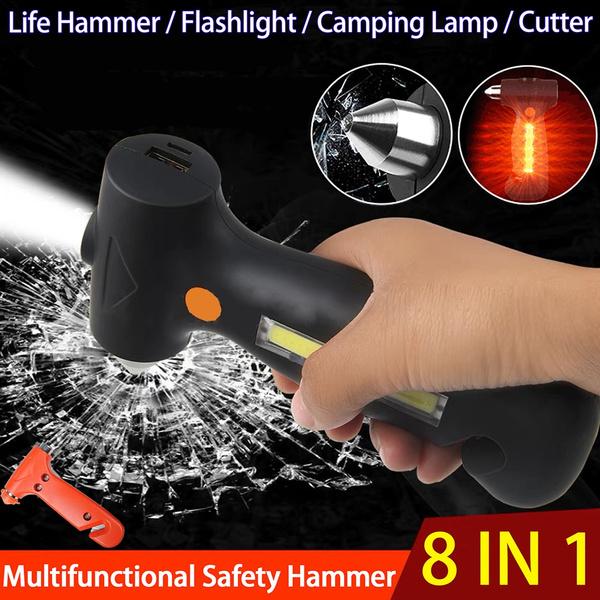 Flashlight, escapetool, carwindowbreaker, Mobile