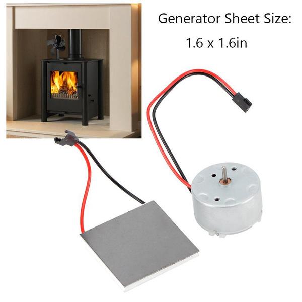 motorgeneratorset, Fireplace, electricgeneratorsheet, stovefangenerator