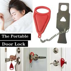 Mini, Door, doorlock, portabledoorlock