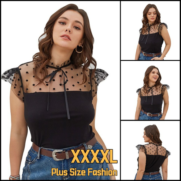 Summer, Plus Size, blousesforwomenbusinesscasual, womens top