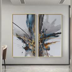largeabstractcanvaspainting, Decor, nordiccanvaspainting, art