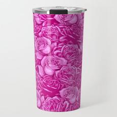 pink, Steel, Coffee, travelmug