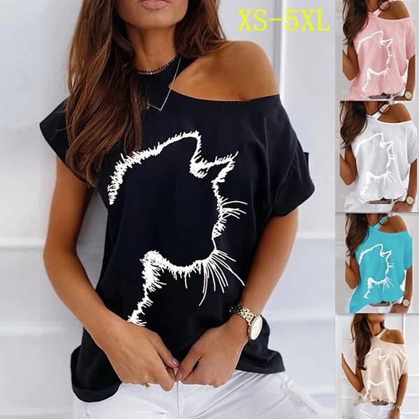 cute, strapless, Plus Size, Shirt
