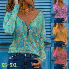 Summer, Plus Size, Shirt, Sleeve