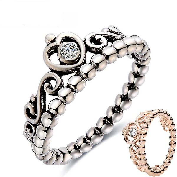 Sterling, Princess, wedding ring, gold