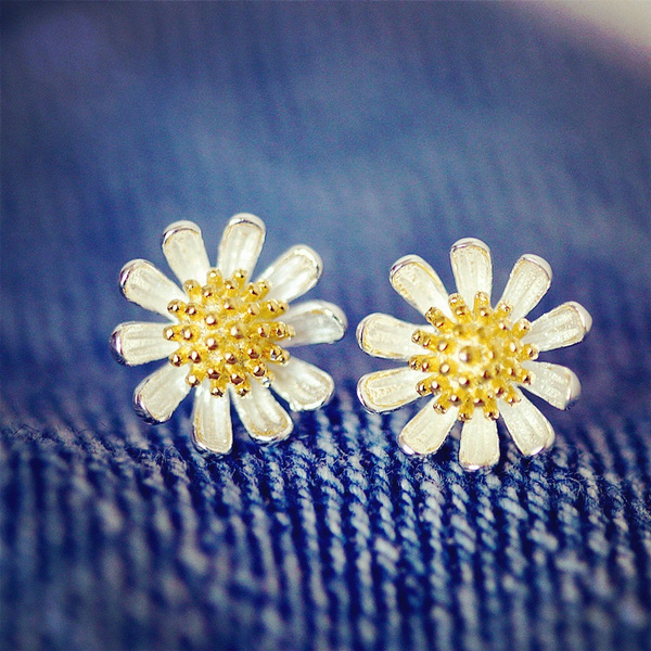 Sterling, Flowers, 925 sterling silver, Jewelry
